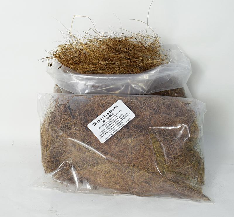 Włókno kokosowe długie 50 g